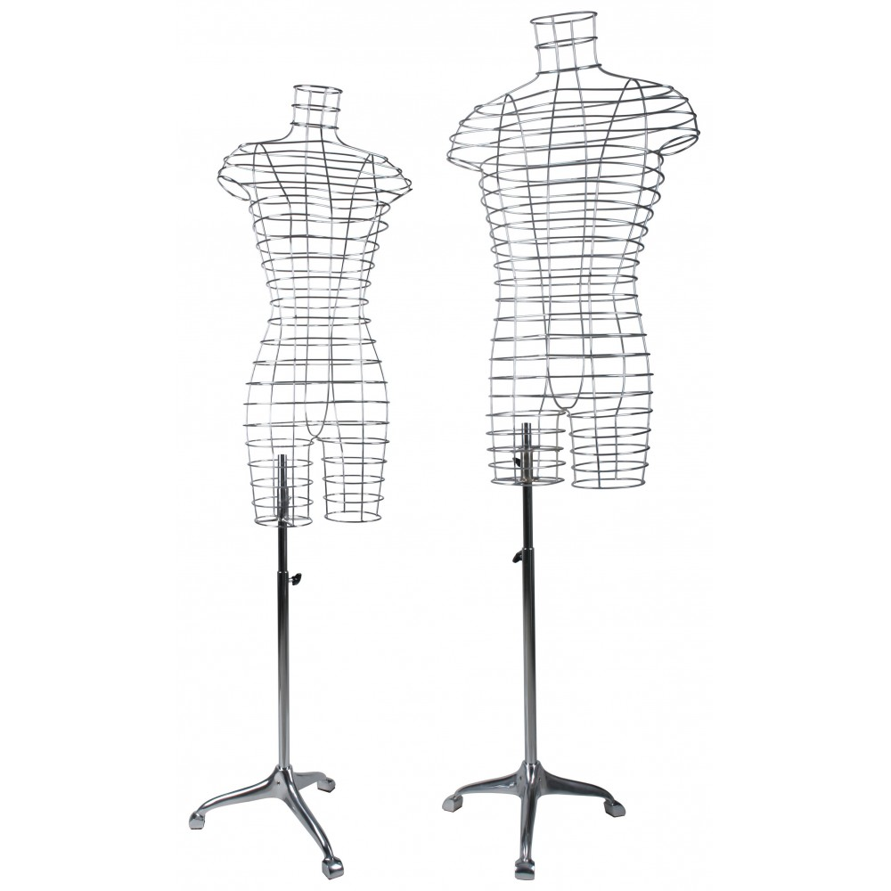 Mannequin design fil chrome