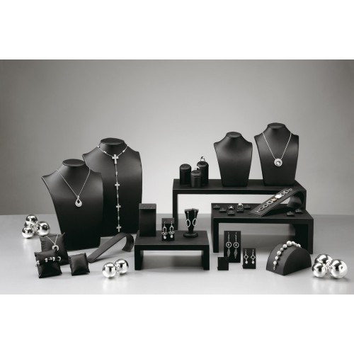 Presentoirs pour bijoux en simili cuir