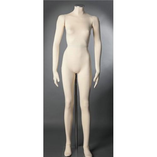 Mannequin femme flexible musée