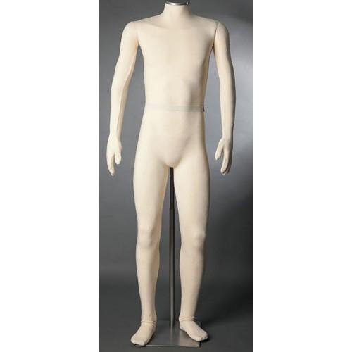 Mannequin homme flexible musée