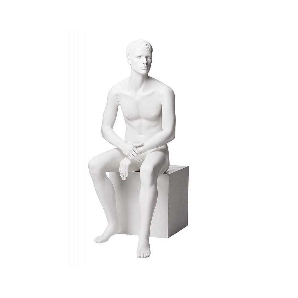 Mannequin homme assis design