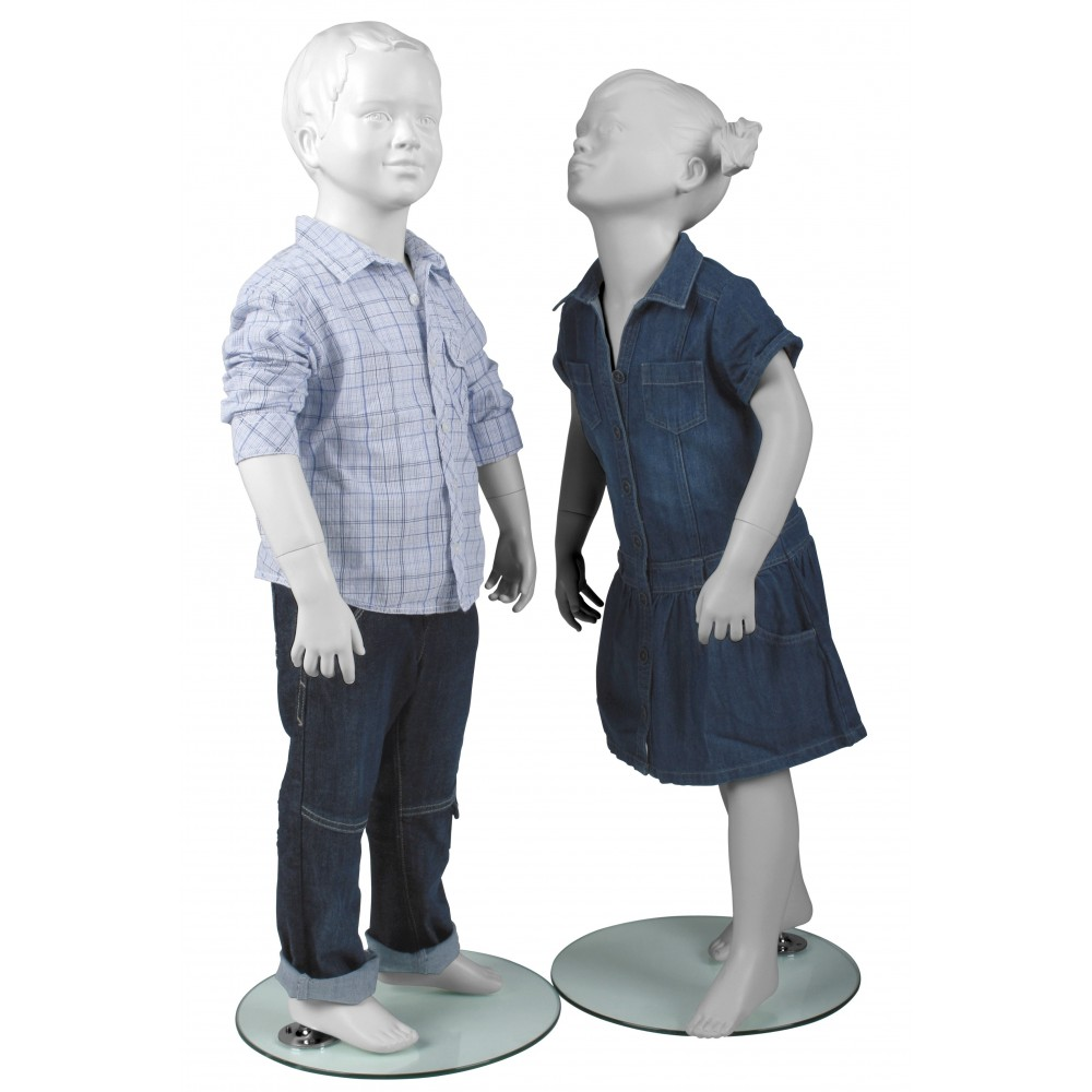 Mannequin Enfant Tete Stylisee
