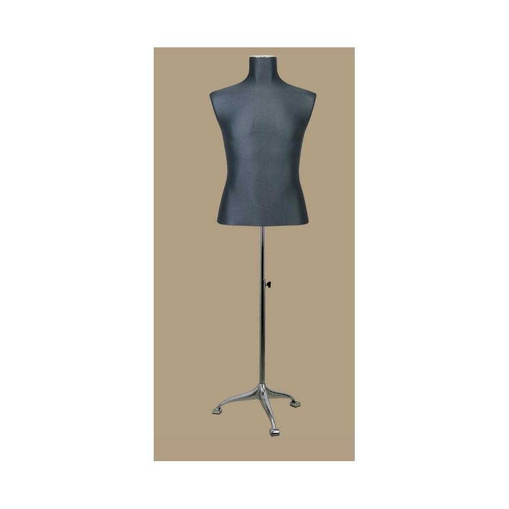 mannequin buste homme tissu. Black Bedroom Furniture Sets. Home Design Ideas