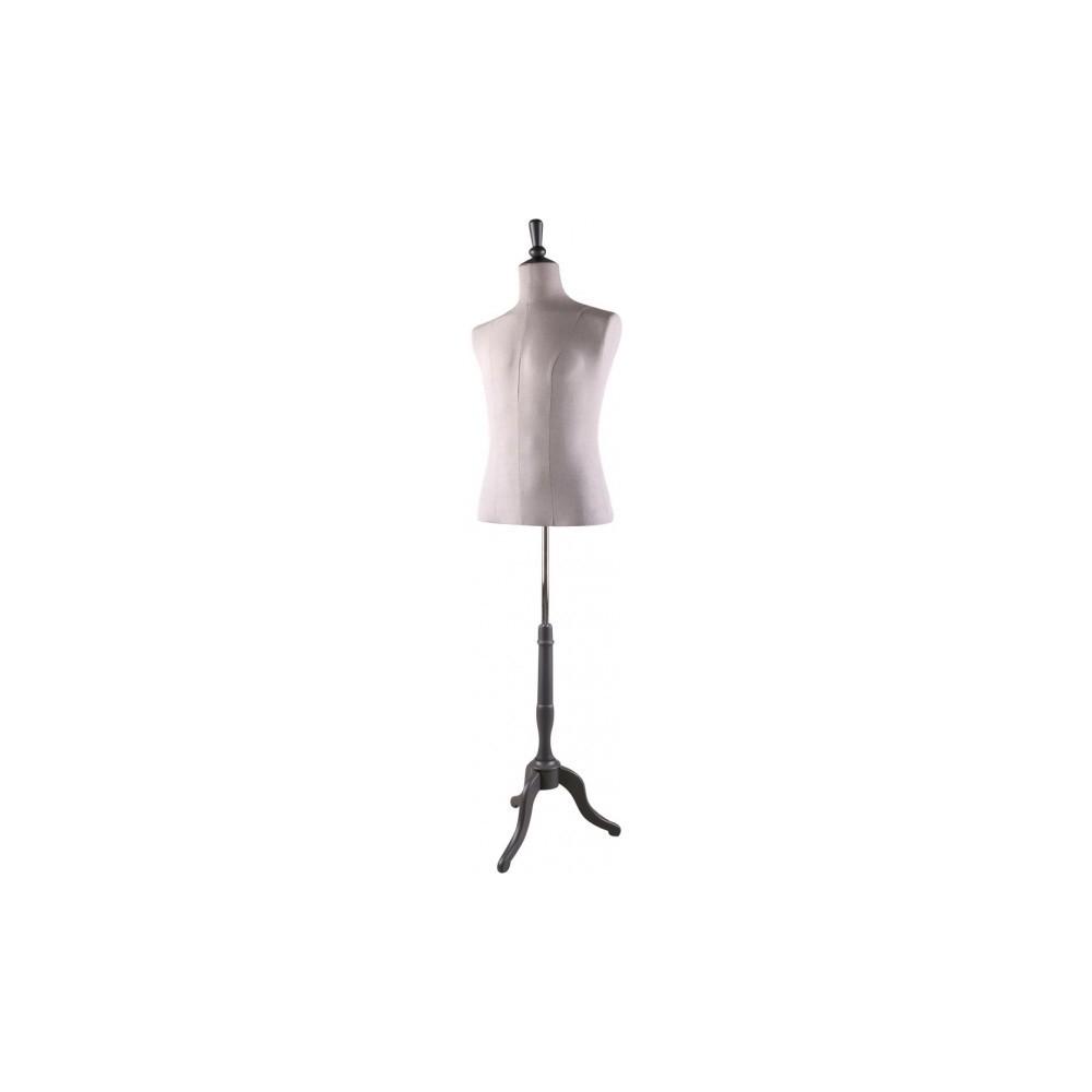 mannequin buste homme tissu lin. Black Bedroom Furniture Sets. Home Design Ideas