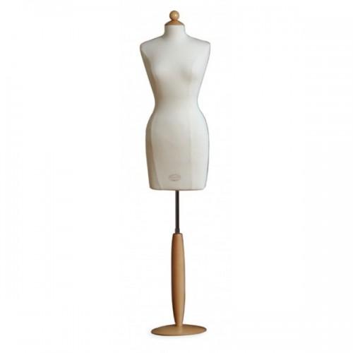 Mannequin buste long femme en tissu jersey