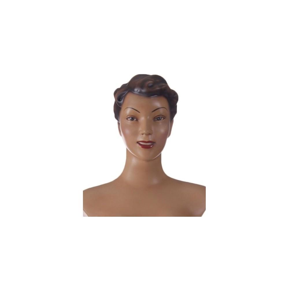 Mannequin collection rétro vintage avec maquillage