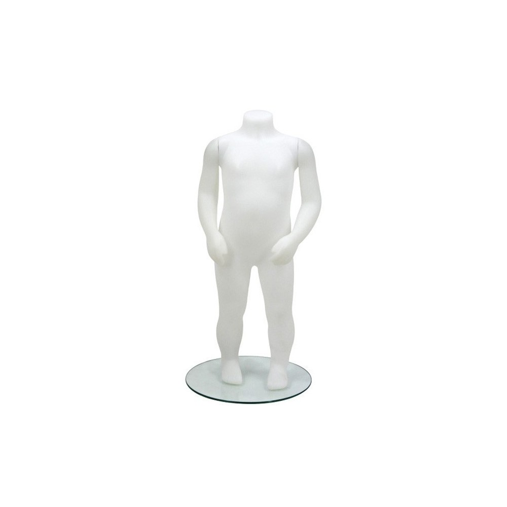 Mannequin enfant sans tête incassable