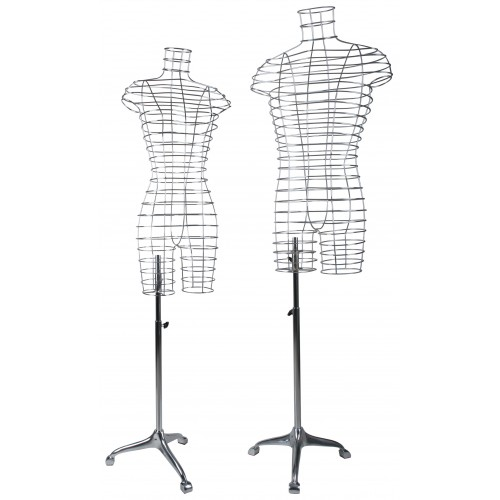 Mannequin design fil chrome