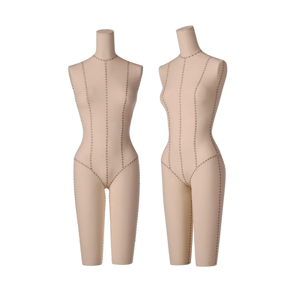 Mannequin torso femme lingerie en tissu