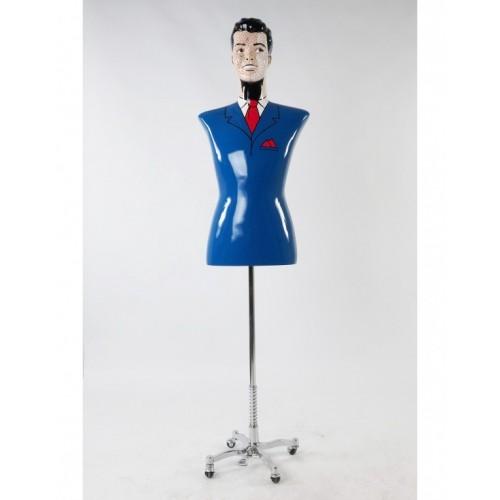 Mannequin design tête artistique