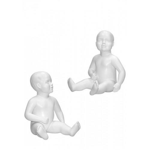Mannequin enfant bébé en fibre de verre