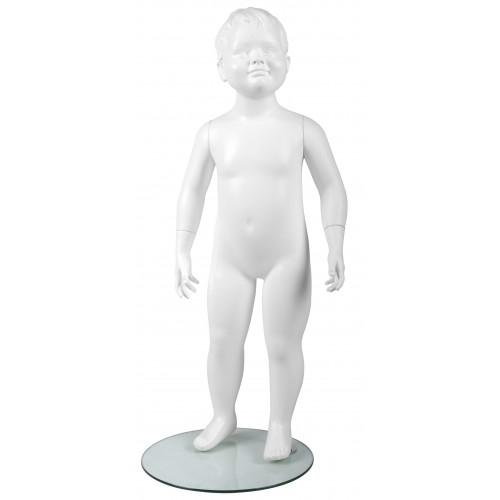 Mannequin bébé enfant tête stylisée