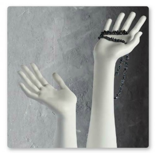 Mains mannequin femme pour bijoux