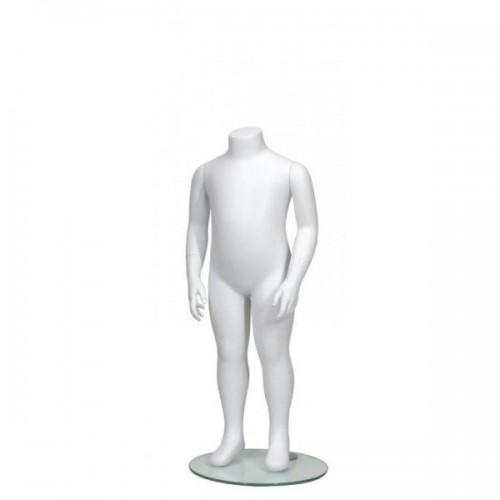 Mannequin enfant sans tête unisexe