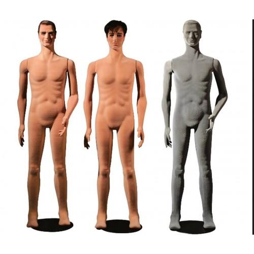 Mannequin homme flexible décoration magasin