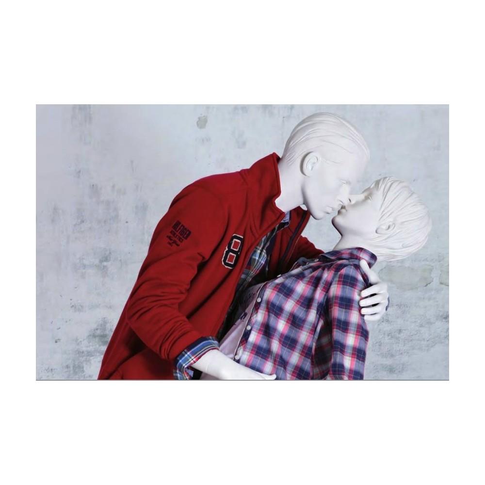Couple mannequin amoureux