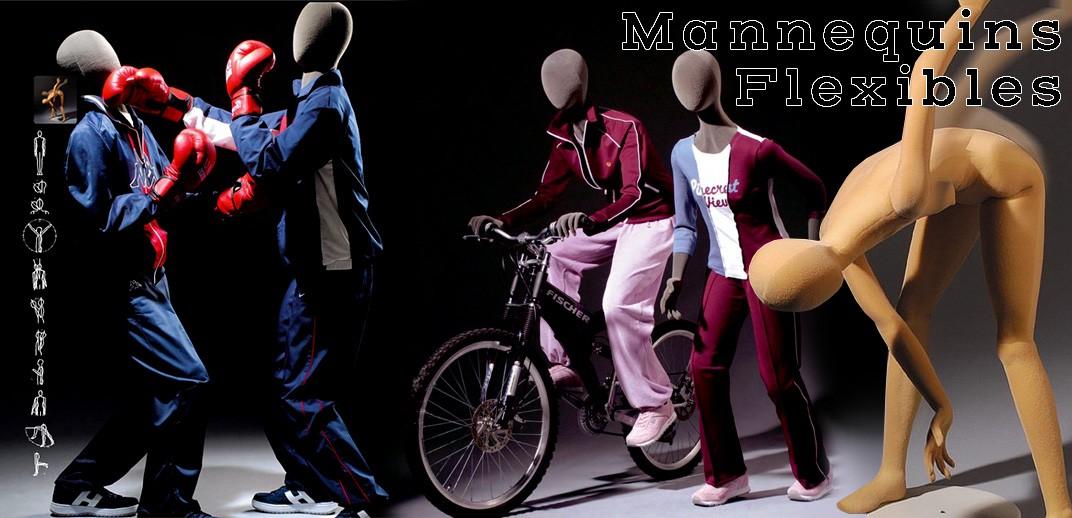 Mannequins flexibles